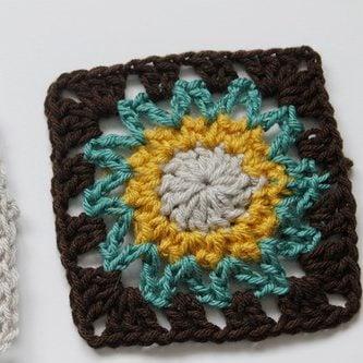 Crochet Square Motif Pattern