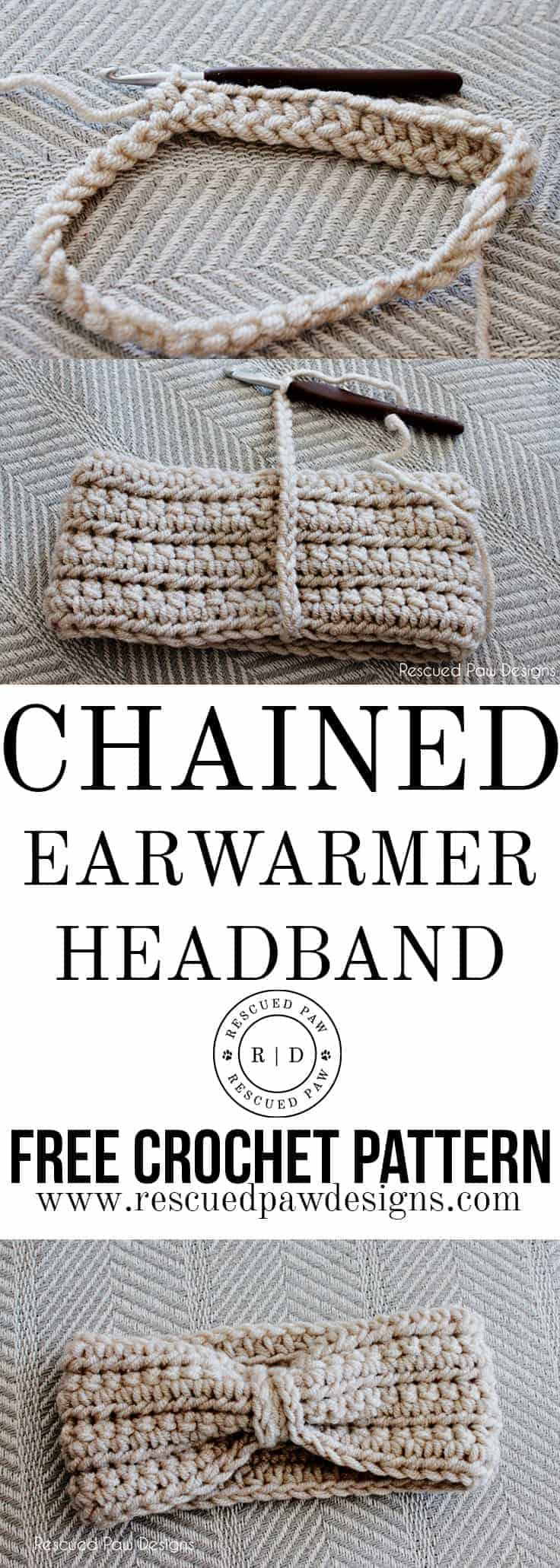 Ear Warmer Headband Crochet Pattern