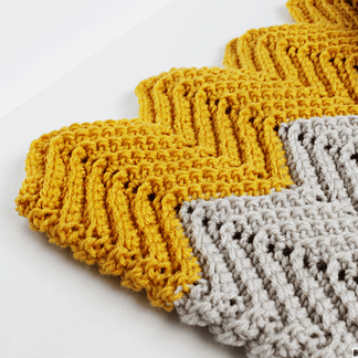 Wonders Chevron Crochet Blanket Pattern