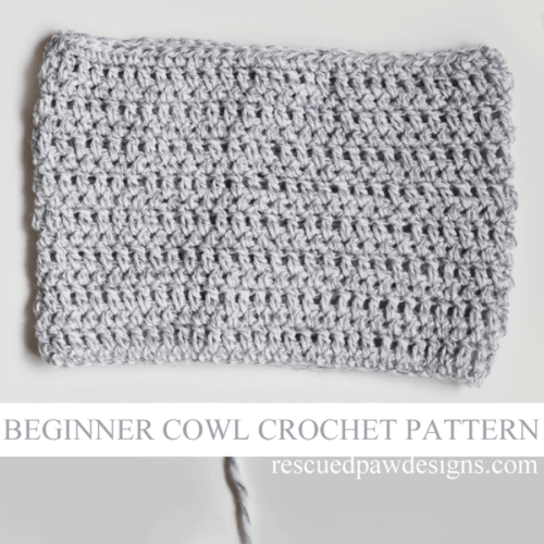 Lightweight Grey Cowl – Free Crochet Pattern