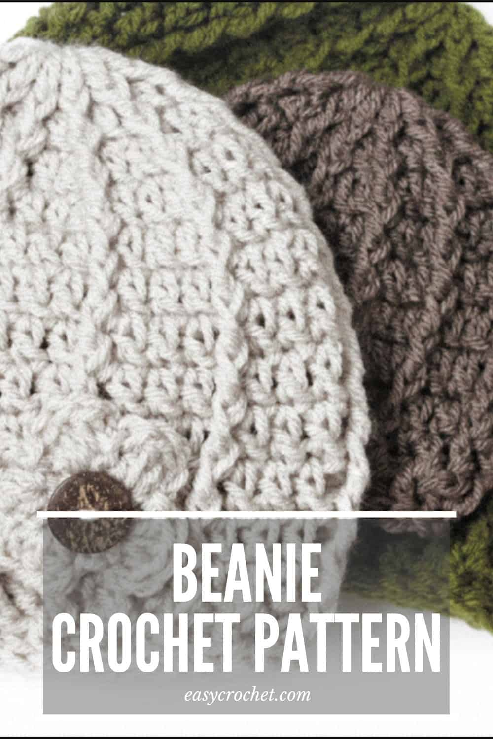 Make this unique beanie with our FREE crochet pattern! Uses easy to find yarn and is so fun to make. via @easycrochetcom