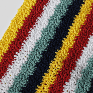 Crochet Pattern Wavy Ways Blanket