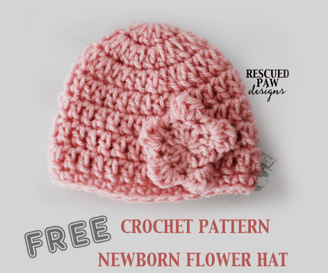 How To Crochet A Newborn Hat Crochet Newborn Hat Pattern