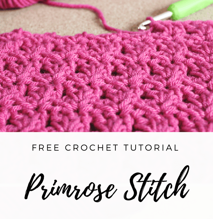 Primrose Crochet Stitch Tutorial