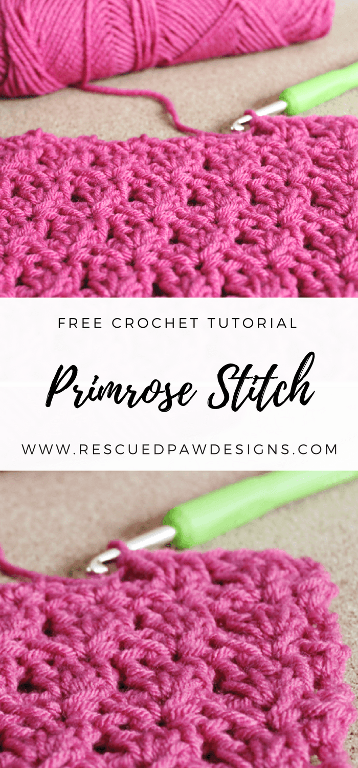 Primrose Crochet Stitch Tutorial