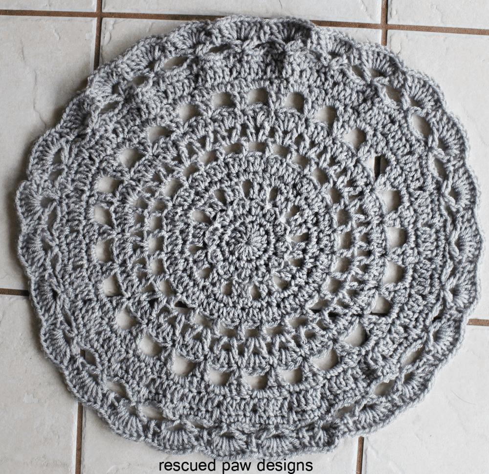 Doily Crochet Pattern - Easy Crochet