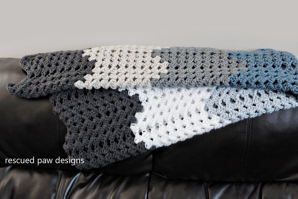 Granny Ripple Crochet Blanket