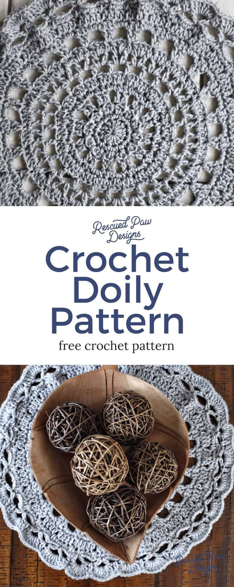 Crochet doily pattern rescued paw designs crochet free crochet doily pattern by rescued paw designs can even be used as a small bankloansurffo Images