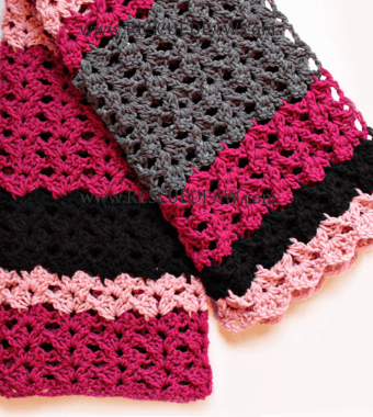 Simple Crochet Blanket Pattern: The Elise