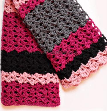 Free Simple Crochet Blanket Pattern