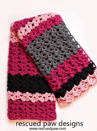 Simple Crochet Blanket Pattern: The Elise