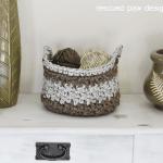 Crochet Basket Pattern Free