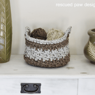 Crochet Basket Pattern || Easy Crochet