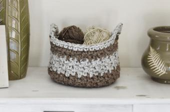 Crochet Basket Pattern    Rescued Paw Designs