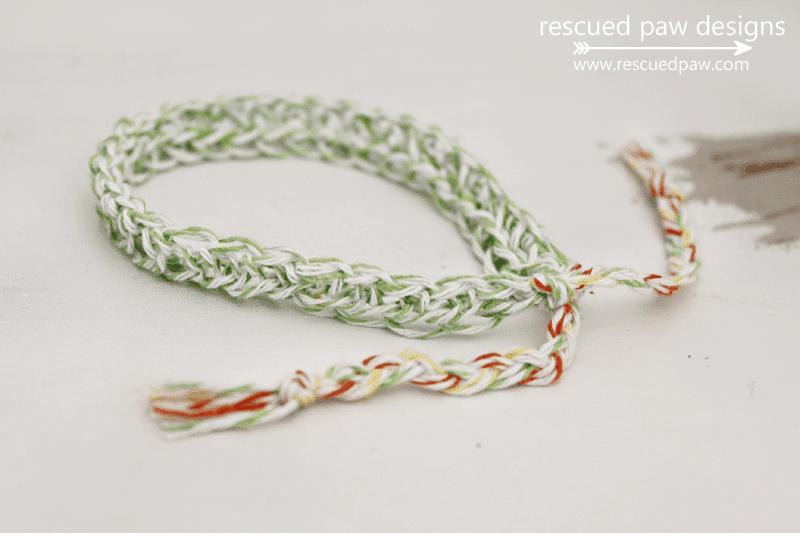 Bakers Twine Crochet Bracelet Pattern