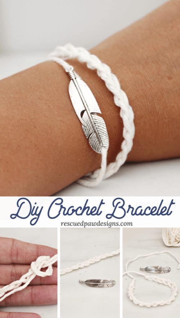 Crochet Bracelet Pattern - How to Crochet a Bracelet