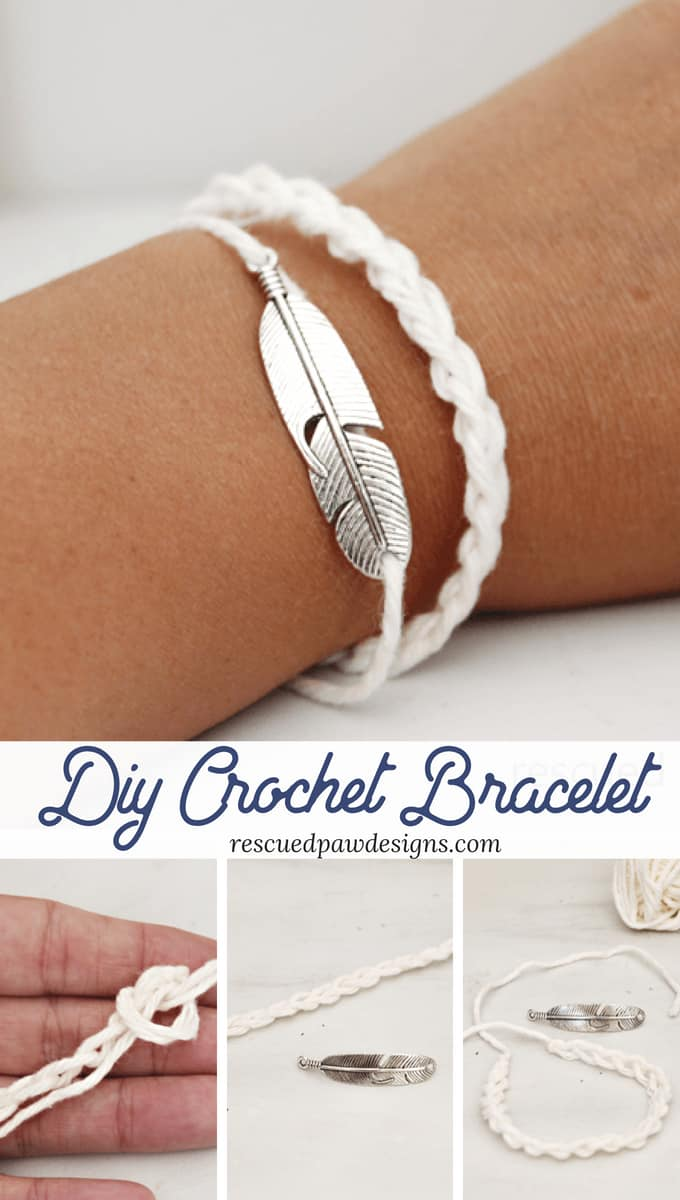 Crochet Bracelet Pattern - How to Crochet a Bracelet