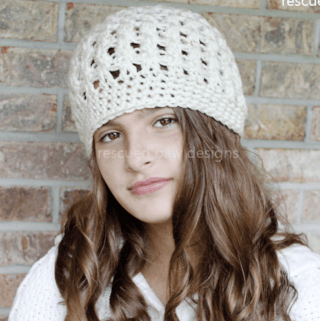 Crochet Beanie Pattern - Dreaming of Winter Beanie Crochet Pattern Easy Crochet