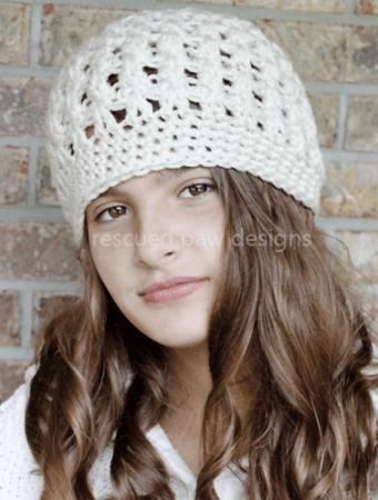 Winter Crochet Beanie Pattern