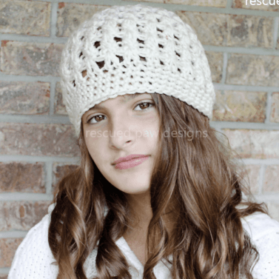 Winter Crochet Beanie Pattern