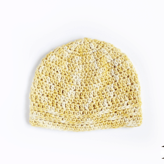Simple Chained Crochet Beanie Pattern Rescued Paw Designs Crochet