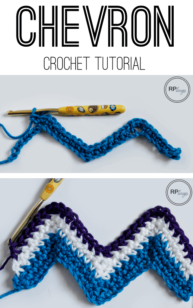 Chevron Crochet Tutorial from Easy Crochet - Chevron Crochet Pattern