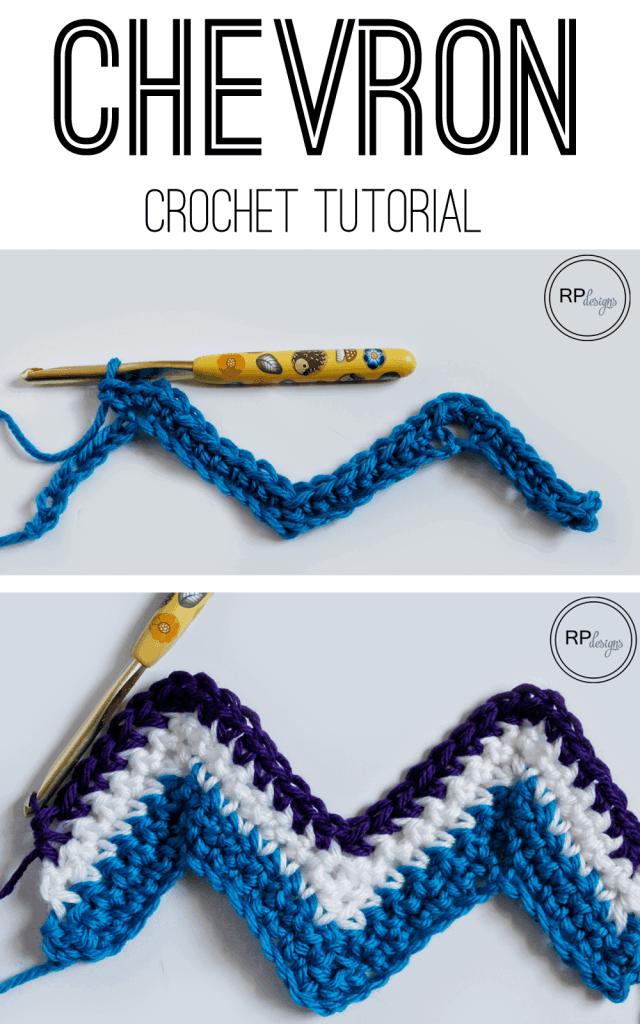 Chevron Crochet Tutorial from Rescued Paw Designs - Chevron Crochet Pattern
