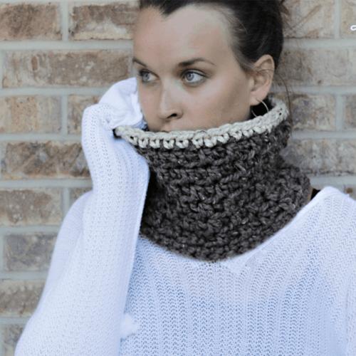 Free Chunky Crochet Cowl Pattern