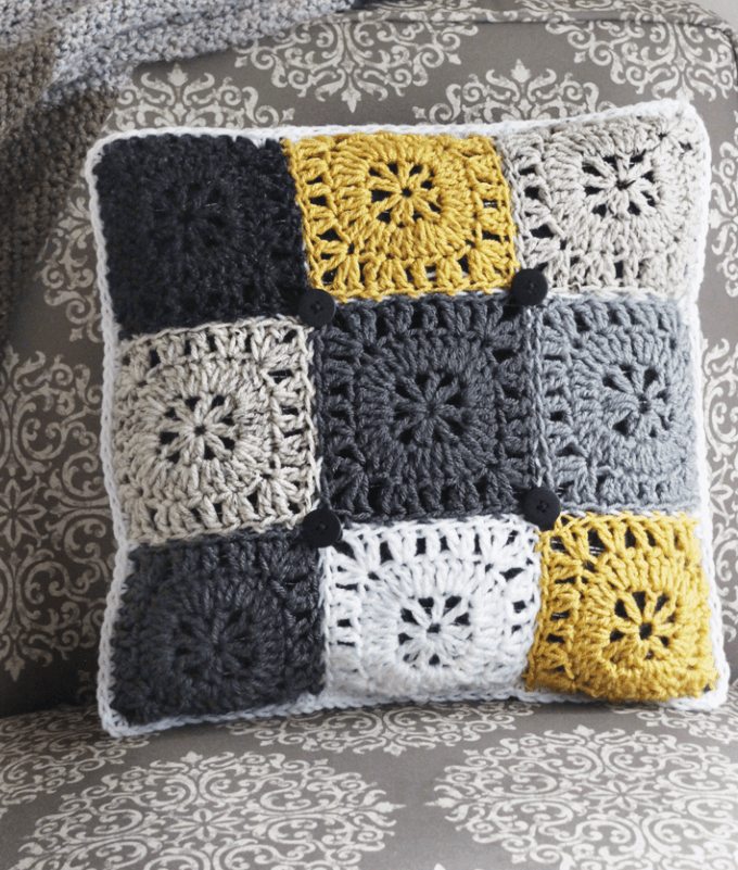Pillow Crochet Pattern || FREE PATTERN || Rescued Paw Designs