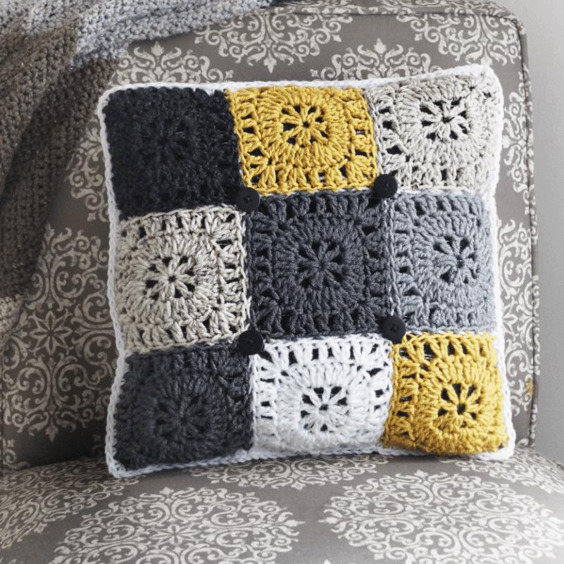Pillow Crochet Pattern Free Pattern Rescued Paw Designs