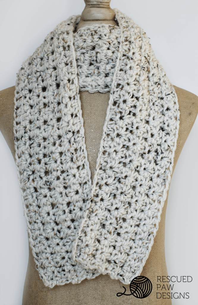Crochet Scarf Pattern Picture