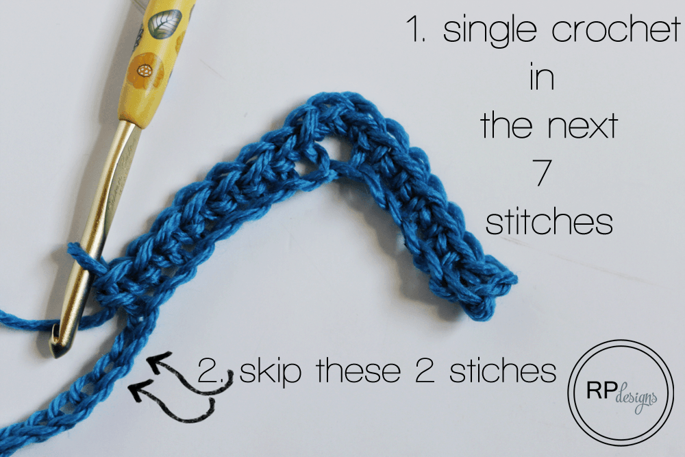 Chevron Crochet Tutorial from Rescued Paw Designs - Chevron Crochet Pattern