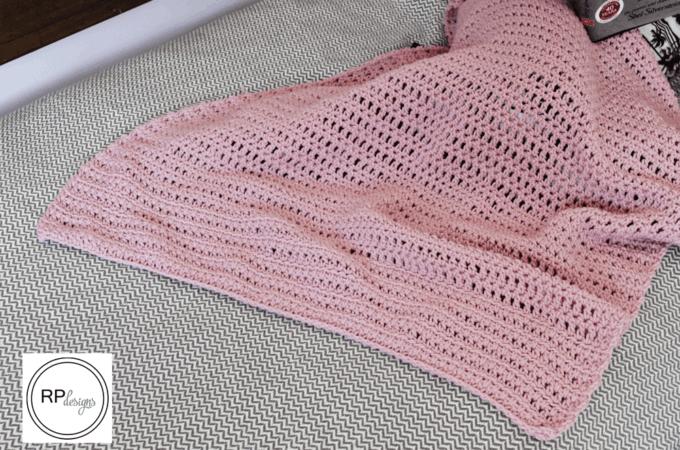 Pink Crochet Blanket Pattern