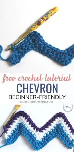 Chevron Stitch Tutorial Crochet