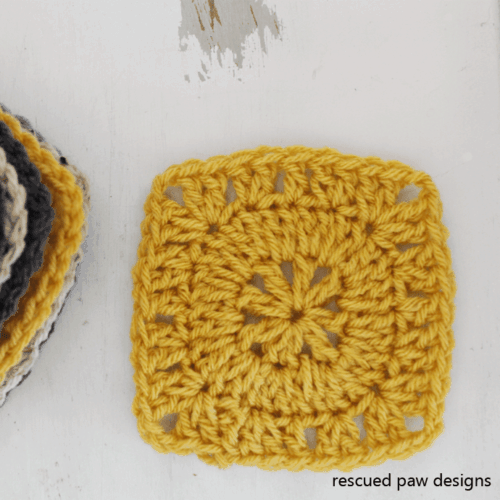 Simple Square Free Crochet Pattern