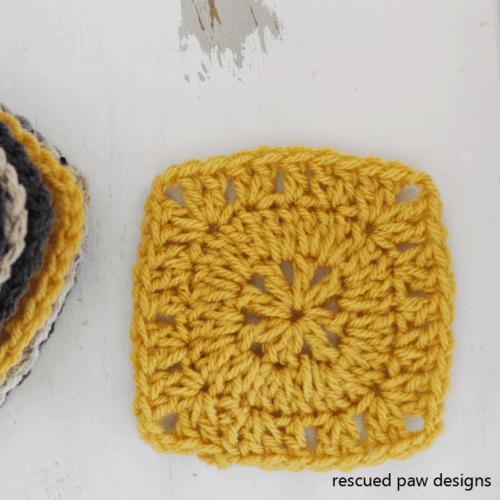 Simple Square Free Crochet Pattern