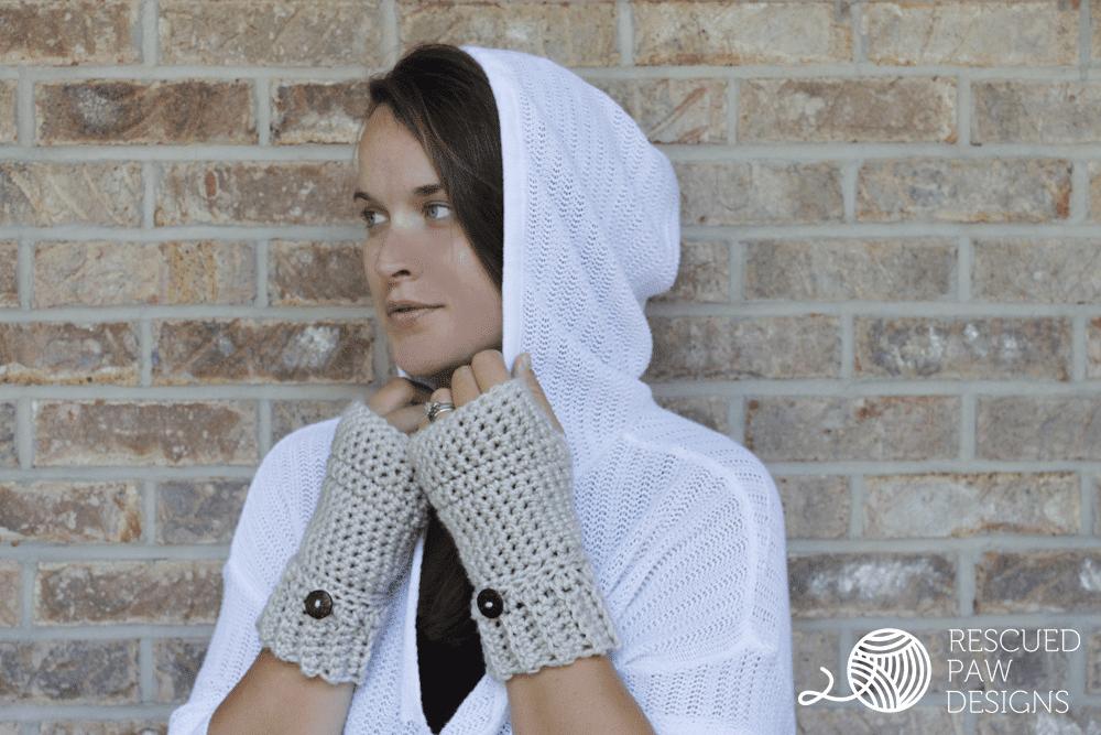 Free Crochet Fingerless Gloves Pattern Rescuedpawdesigns