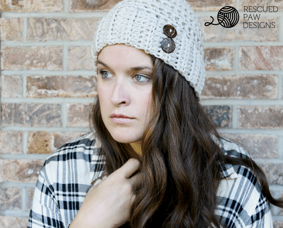 Easy Crochet Hat To Make Free Button Crochet Hat Pattern