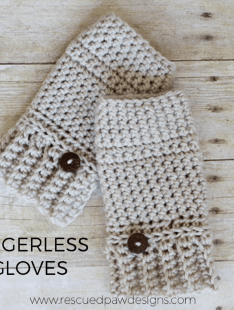 Andy Crochet Fingerless Gloves