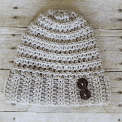 Andy Button Hat – Free Crochet Pattern