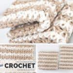 Crochet Dishcloth Set Pattern