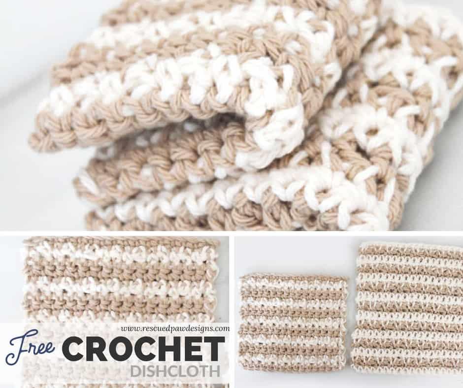 Free Crochet Dishcloth Pattern How To Crochet A Dishcloth