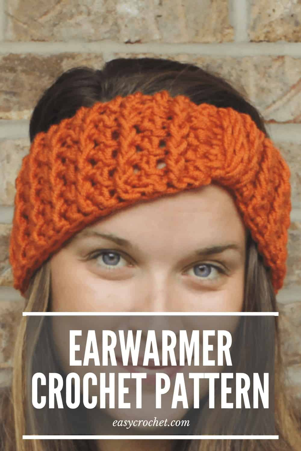 Ear Warmer Crochet Pattern Free Pattern from Easy Crochet via @easycrochetcom