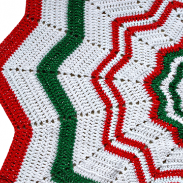 Tree Skirt Crochet Pattern