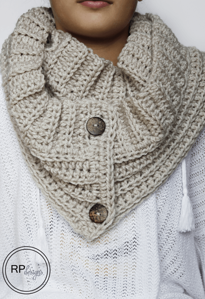 Andy Button Scarf