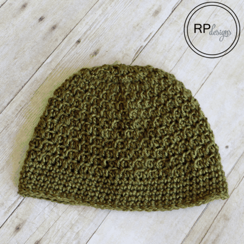 Autumn Crochet Beanie Pattern