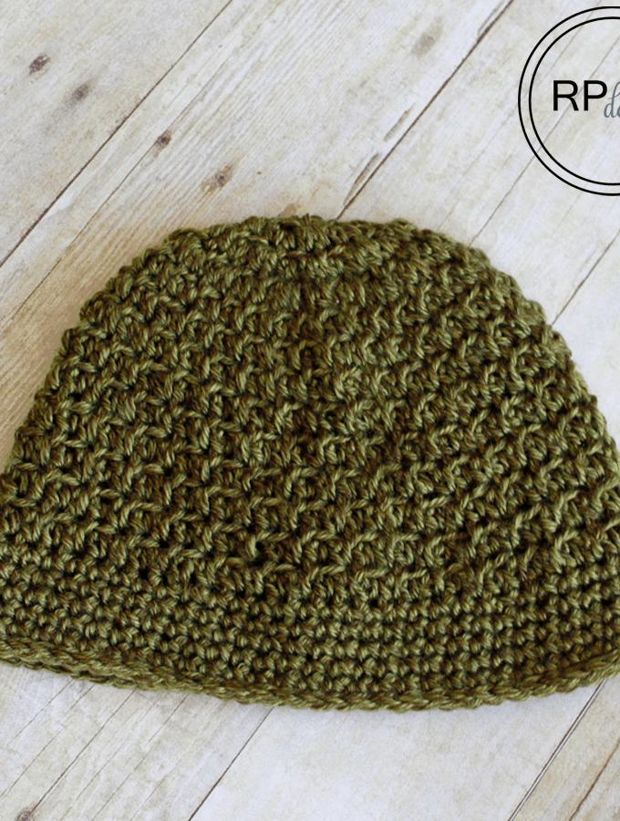 Autumn Crochet Beanie Pattern