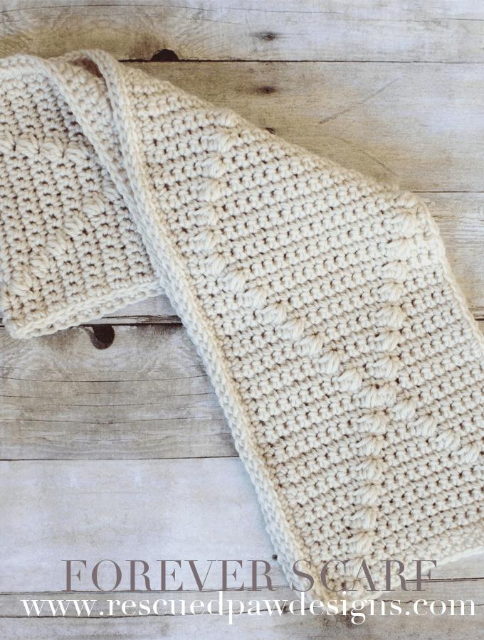 Forever Crochet Scarf Pattern