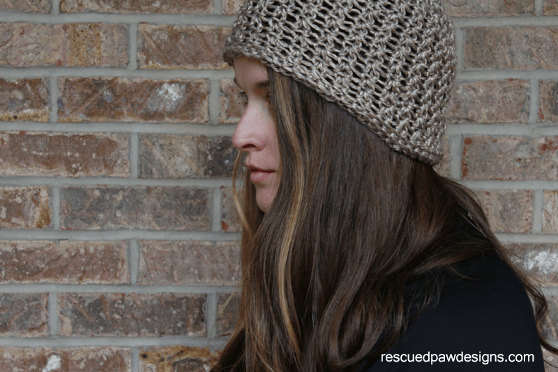 Taupe It Hat- Free Crochet Pattern by Rescued Paw Designs