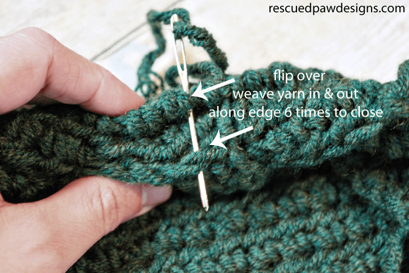 Crochet Wrapped Headband Pattern - Rescued Paw Designs